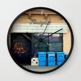 Tonight's Line-up Wall Clock