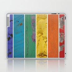 texture rainbow Laptop & iPad Skin