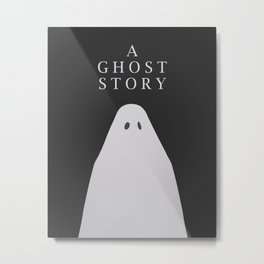 A Ghost Story movie Metal Print