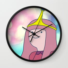 Princess BG Wall Clock