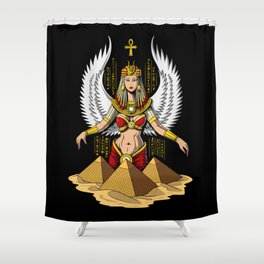 Egyptian Goddess Isis Ancient Queen Shower Curtain