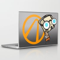 borderlands Laptop & iPad Skins featuring Borderlands Bandit GIR by Diffro