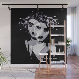 Gone Girl with the Wind Wall Mural