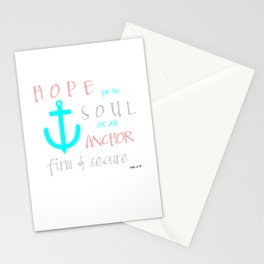 Hope for the Soul Stationery Cards
