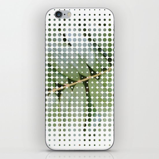 mesh white iPhone & iPod Skin
