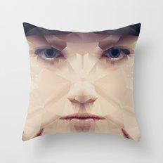 Facet_AB2 Throw Pillow