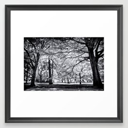 tree patterns Framed Art Print