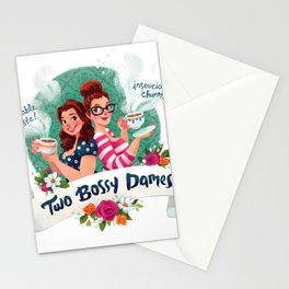 Two Bossy Dames Stationery Cards