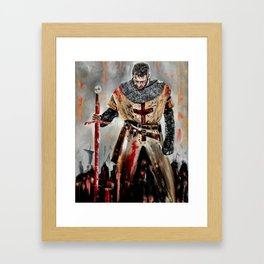 The Knights Templar Framed Art Print