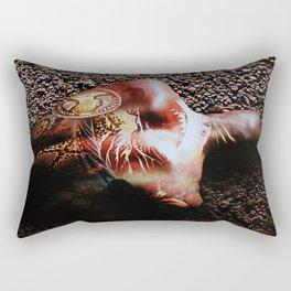 Illustrated Rectangular Pillow
