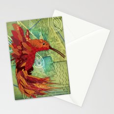 Humming Phoenix  Stationery Cards