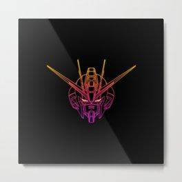 Gundam Strike Freedom Metal Print