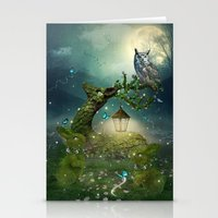 bebop Stationery Cards featuring Keeper of the Enchanted - Spring Thaw by soaring anchor designs
