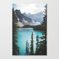 • lake moraine • Canvas Print