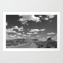 Chaco Canyon Observatory Art Print