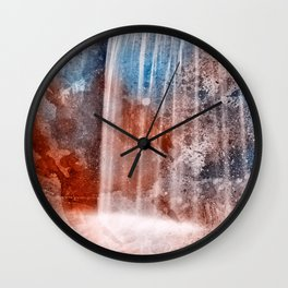 Acrylic Urbex Falls Wall Clock