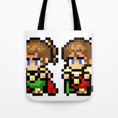 Final Fantasy II - Palom and Porom Tote Bag