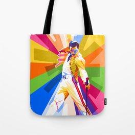 Freddie Queen Tote Bag
