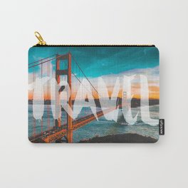 TRAVEL San Francisco Carry-All Pouch