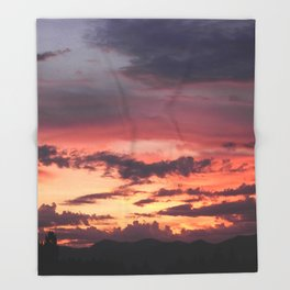 Sunrise Sherbet Throw Blanket