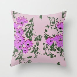 Untitled-1 (flowers)   Throw Pillow