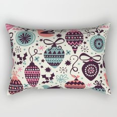 Birds and Baubles  Rectangular Pillow