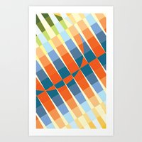 art deco Art Prints featuring Art Deco by Robert Cooper