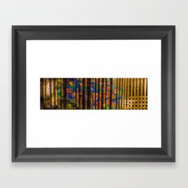 chapter w Framed Art Print