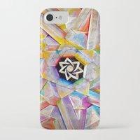 escher iPhone & iPod Cases featuring Escher Star by Todd Huffine