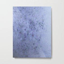 en bleu suave Metal Print