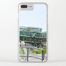 Traps Clear iPhone Case
