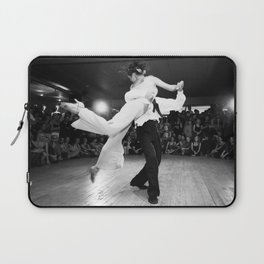 Tango in Black Laptop Sleeve