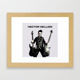 Hector Hellion - Guitar & Bass Framed Art Print