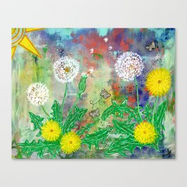 Wild Wishes Canvas Print