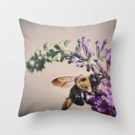 Bee-autiful Throw Pillow