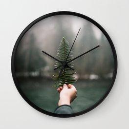 Northwest Fern Wall Clock