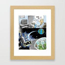 Alien DWI Framed Art Print