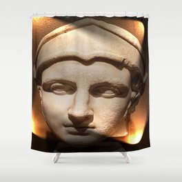 Lighted Antiquity Shower Curtain