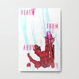 Death From Above 0079 (Zaku) Metal Print