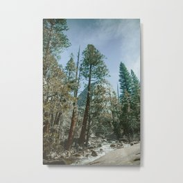 The top of the John Muir Trail, Circa 1977 Metal Print