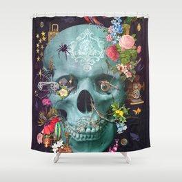 CREATION Skull Shower Curtain