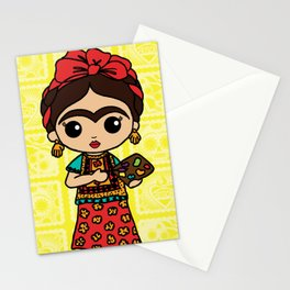 Frida Painting Reality Stationery Cards