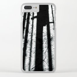 shadow #2 Clear iPhone Case