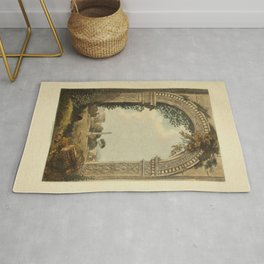 Ruins Of Rome Rug