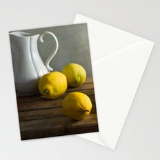 Three lemons Stationery Cards