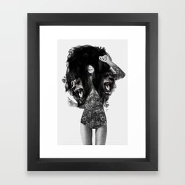 Lion #2 Framed Art Print