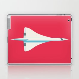 Concorde Supersonic Jet Airliner - Crimson Laptop & iPad Skin