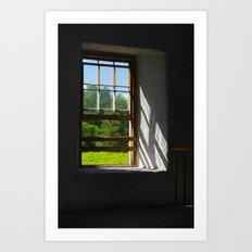 A Clear View   Art Print