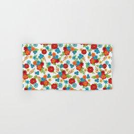 Colorful Wildflowers Hand & Bath Towel