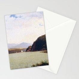 Marlborough 1870 By David Johnson | Reproduction | Romanticism Landscape Painter Stationery Cards